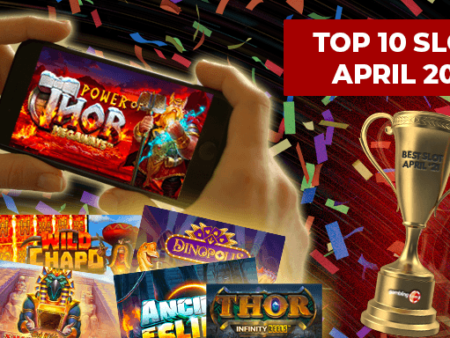 10 Of The Best Online Slot Games Released In April 2021