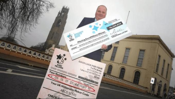 Finally! £76m EuroMillions Winner Emerges